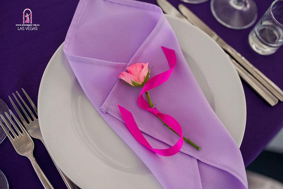 Декор-салфетки-цветком