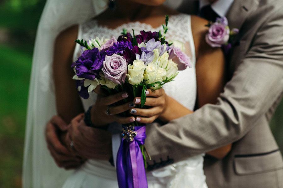 Оформление-букета-невесты