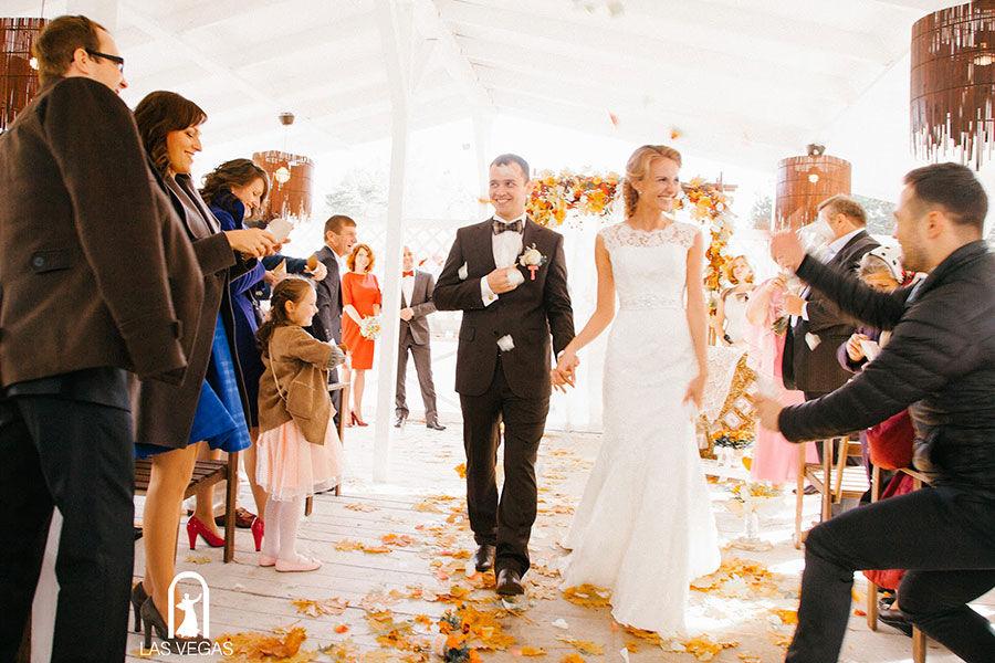Свадьба-осенью